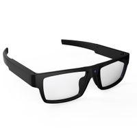 video sonnenbrille großhandel-Tragbare Mini-Camcorder-Smart-Gläser Hände frei Videorecorder HD 1080P Schnappschuss-Kamera-Gläser Sun Riding Eyewear Outdoor Sport DV Auto DVR