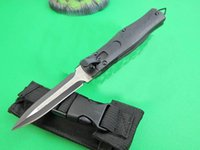 Wholesale Full Jump - Micro-technology. Cross-open spring knife (double-front full blade) Straight jump scalable straight out automatically pop-up portable self-d
