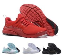 Wholesale Ladies Tops Design Lace - Men's Air Presto Running Shoes 2018 Women New Design Sport Running Shoes Boost White Black Red Blue top quality lady Presto Ultra sneaker