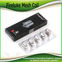 Wholesale atomizer mesh - Original Freemax Fireluke Mesh Coil Head Atomizer Core 0.12ohm 0.15ohm Replacement Coils For For Fireluke Mesh Tank 100% Authentic