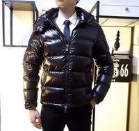 классический мужской пуховик оптовых-Франция классический бренд Мужчины Женщины Повседневная пуховик mayaDown пальто Мужские открытый теплый перо платье человек зимнее пальто куртки и пиджаки
