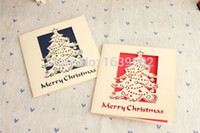 Wholesale pop up card birthday free resale online - 2017 fairy happiness tree pop up D cristmas card