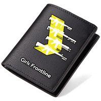 Wholesale girls games dress resale online - Girls Frontline wallet squad purse Game short long leather cash note case Money notecase Loose change burse bag Card holders