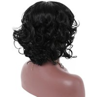 ingrosso sesso gioca la moda-Parrucca rete netta europea e americana modelli esplosione Ladies fashion big cap capelli parrucca femminile breve parrucca capelli ricci parrucche sintetiche Sex Toys