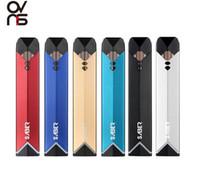 indicador de batería de cigarrillo al por mayor-Original OVNS Sabre Pod Vape Pen Kit Pods recargables portátiles 400mAh Indicadores LED de batería 1.8ml Cartuchos Mini E Cigarettes Starter Kits