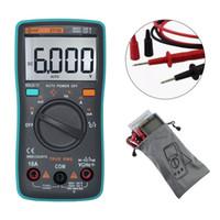 Wholesale multi tester digital - Big Screen Automatic Range Digital Multimeter Multitool DC AC Ammeter Current Resistance Tester Multi-function multimetro