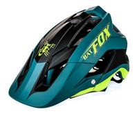 Wholesale helmet bike light for sale - 2018 new overall molding bike helmet ultra light bike helmet high quality mtb ciclismo colour BAT FOX DH AM