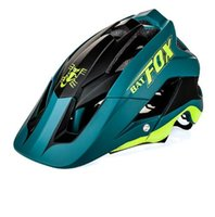Wholesale bike white light for sale - 2018 new overall molding bike helmet ultra light bike helmet high quality mtb ciclismo colour BAT FOX DH AM