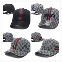 верхние шляпы для оптовых-Лучшие продажи роскошный дизайнер Cap Snapback бейсболки досуг регулируемые Snapbacks шляпы Casquette открытый гольф спорт папа шляпа