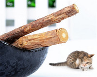 5PCS Cat cleaning teeth Pure natural catnip pet cat molar Toothpaste stick silvervine actinidia cat snacks sticks tooth care