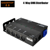 Wholesale Channel Choose - Multiple Installation Methods 4 Channels DMX Distributor,Wide Input Power Supply for All Stage Light,3Pins or 5Pins to Choose