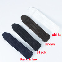 Wholesale big bang watch bands resale online - New Watch Accessories Rubber Strap For Big Bang Series mmx25mm Men and Women Watch Band Accessories
