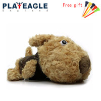 Wholesale Wooden Animals Heads - 2018 New Style 1pcs Golf Wooden Head Covers Women GOLF Protect Headcover Cartoon Animal female Cover Protective With Free Gift