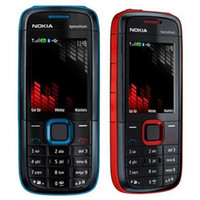 Wholesale dhl cheap cell phone - Refurbished Original Nokia 5130 XM XpressMusic Unlocked 2G GSM Bar Phone Bluetooth FM Mobile Cheap Cell Phone Free DHL 10pcs