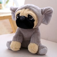 1Pc 20cm cute plush shar pei pug dogs toy kids baby gift stuffed animal toys PN