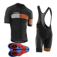 cycling оптовых-Мужчины лето orbea Велоспорт Джерси велосипед одежда с коротким рукавом рубашки 9D шорты Дышащий быстросохнущий Одежда для велосипеда 60503