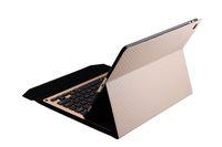 tragbare freigabe großhandel-Bluetooth V 3.0 Portable Glowing Keyboard mit Magnet PU-Lederetui für iPad Pro 12.9 (2015 2017 veröffentlicht) Bluetooth-Tastatur + Stift 1099