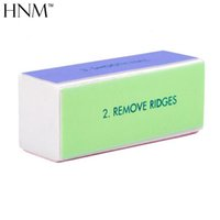 Wholesale nail file smoother buffer resale online - 4 Sides Smooth Nail Art Sanding Files Buffer Block Manicure Shiner Nail File Grit Art Tips Manicure Pedicure Tools