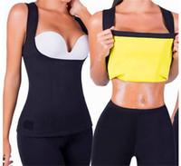 0f01bb5496 HOT Body Cami Shaper Women Slimming Vest Thermo Fitness Trainer Sauna Vest  S-2XL Size Chest Support Abdomen Waist Trainer Body Belt Shaper