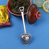 hora do chá do presente venda por atacado-Hot vender 100 pcs presente de casamento e brindes Tea Time Coração Chá Infusor Favor em Teatime Gift Box com boa qualidade