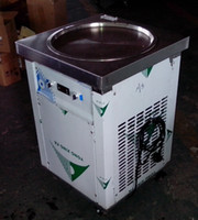 Wholesale ice cream machines - Free shipment to door USA WH ETL NSF UL 55cm big round pan Thai ICE CREAM ROLL MACHINE instant FRY ICE CREAM MACHINE FRIED ICE CREAM MACHINE