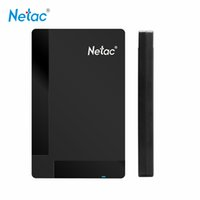 Wholesale Desktop Business - Netac K218 Original Hard Disk 1TB HDD USB 3.0 External Disco HD Disk Laptop Desktop Storage Business Portable Hard Drive 500GB