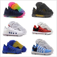 size 40 f595a e0b5f New Zoom KD 10 Anniversary Red Still Igloo BETRUE Oreo Men Basketball Shoes  USA Kevin Durant Elite KD10 Sneakers Casual Sport Shoe