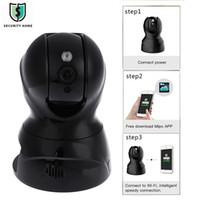 hd 3d mini kamera toptan satış-826X 3D Akıllı Gürültü Azaltma Gece Görüş Uzaktan Kumanda Şifreleme Çift Yönlü Dil Mini 2.0MP HD Bulut IP Kamera