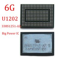 Wholesale ic power iphone - 5pcs lot Original New Big Power IC Chip U1202 Management IC Main Large power supply chip PM 338S1251-AZ For iPhone 6 6G 6P 6 Plus