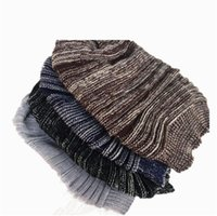 chapeaux tricotés surdimensionnés achat en gros de-Surdimensionné spécial cadeau de Noël fantaisie mignon tricoté femmes hommes chapeau casquette de ski casquette bonnet bonnet de béret