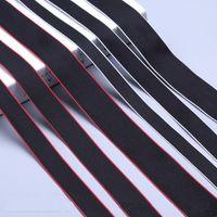 bant hazırlama toptan satış-Polyester Elyaf Dokuma Şerit Band Kayışı Bandı Köpek Yaka Demeti Açık Sırt Çantası Çanta Parçaları Siyah Sanatlar Ve El Sanatları 0 9 kx6 gg