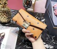 Wholesale wallet credit card korea resale online - 2017 Korea Fashion Printed wallet for men and women large capacity wallet