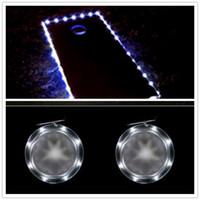 ingrosso luce spot normale-Cornhole LED Board Lights (2 pezzi per set) e 2 pz cornhole edge lights, 5 colori, per Bean Bag Toss Cornhole Games