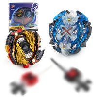 beyblade rampaları seti toptan satış-Toupie Bayblade Başlatıcısı Dönen Top Toptan Beyblade Metal Fusion Set Savaş Spin Mini Üst Beyblade Patlama Arena Stadyumu