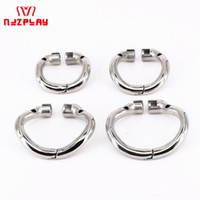Wholesale chastity cage curve online - SODANDY Arc Chastity Base Ring Stainless Steel Curved Penis Ring For Male Chastity Device In Our Shop Cock Cage Penisring Cockring