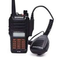 cables de radio cb al por mayor-Walkie-talkie UV9R Baofeng 8W potente banda doble 2800mAh batería IP67 CB impermeable Radio bidireccional UV 9R + cable usb de dos vías de radio