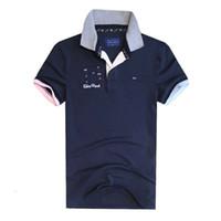 Wholesale air bows - Hot Sale Men's Brand Polo Shirt Aeronautica Militare Polo Shirt Men Air Force One Polo Ralphmen Tommis Men's Shirt Eden Park polos shirts