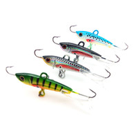 Wholesale ice jigs - 4pcs 60mm 10g New Arrival Fishing Lure Winter Ice Fishing Hard Bait Minnow Pesca Isca Artificial Bait Crankbait Swimbait Tackle