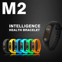 Wholesale Smart Wristbands M2 Sports step counter waterproof smart bracelet Bluetooth sync heart rate bracelet Custom made LOGO For IOS Android