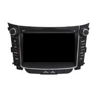 control de radio chino al por mayor-Reproductor de DVD del coche para HYUNDAI I30 2011-2014 Octa core 7 pulgadas Andriod 8.0 4GB RAM con GPS, control del volante, Bluetooth, radio
