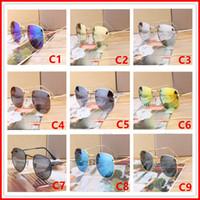 óculos de homem exclusivos venda por atacado-2018 Óculos De Sol Das Mulheres Dos Homens Designer De Marca de Metal Quadro Único Hexagonal Revestimento da lente Plana uv400 Óculos de sol Óculos de Proteção Óculos