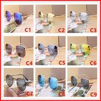 einzigartige männer gläser großhandel-2018 Sonnenbrille Frauen Männer Marke Designer Metallrahmen Einzigartige Hexagonal Flache Linse Beschichtung uv400 Sonnenbrille Goggle Eyewear