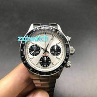 ingrosso cronometro automatico-Paul Newman Chrono orologio pieno funziona 38mm classico cronometro di lusso 7750 cronografo meccanico automatico Retro cinturino orologi fibbia