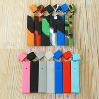Wholesale Cases For Pens - Protective Silicone Case for Juul kit 13 Colors vape pen juul Pods skin wraps Pod System Kit