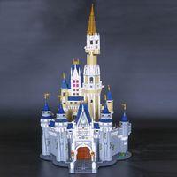 Wholesale block princess for sale - Group buy 16008 Creator Cinderella Princess Castle City Model Building Block Children Toy Gift