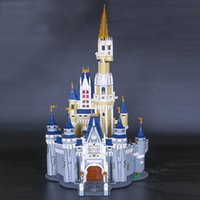 Wholesale Princess Building Blocks - LEPIN 16008 Creator Cinderella Princess Castle City 4080pcs Model Building Block Children Toy Gift Compatible 71040
