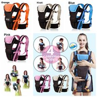 Wholesale sling newborn infant for sale - 4styles Newborn Baby Carrier Sling Wrap Backpack Front Back Chest Ergonomic Infant Sling Backpack Pouch Wrap Baby Carrier Kangaroo FFA977