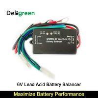 anti-lithium großhandel-Mit Led QNBBM 6 V Bleibatterie Equalizer Balancer BMS überschwemmt AGM GELL Batterie Anti-Vulkanisation, Anti-Korossion 1St