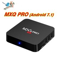 Wholesale tv oem android - Factory Sale OEM MX2 MXQ PRO 4K RK3229 Quad Core Android 7.1 TV BOX With Customized 17.5 Fully Loaded 4K Media Player