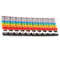 etiket işareti toptan satış-Toptan-100 Adet RJ45 RJ11 RJ12 Renk Sayısal Kablo Etiket Mark Yeni # R179T # Drop Shipping